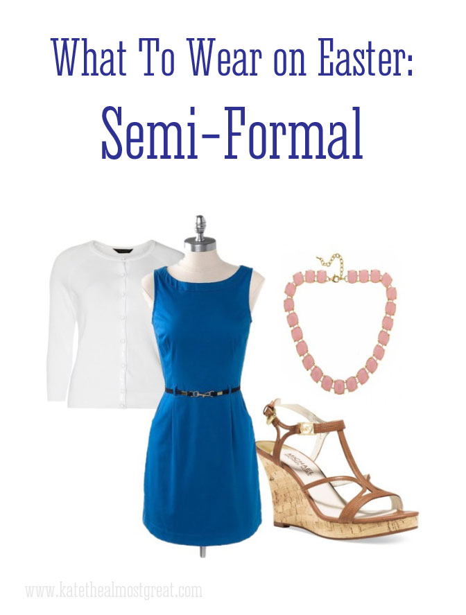 Semi-formal Easter fashion
