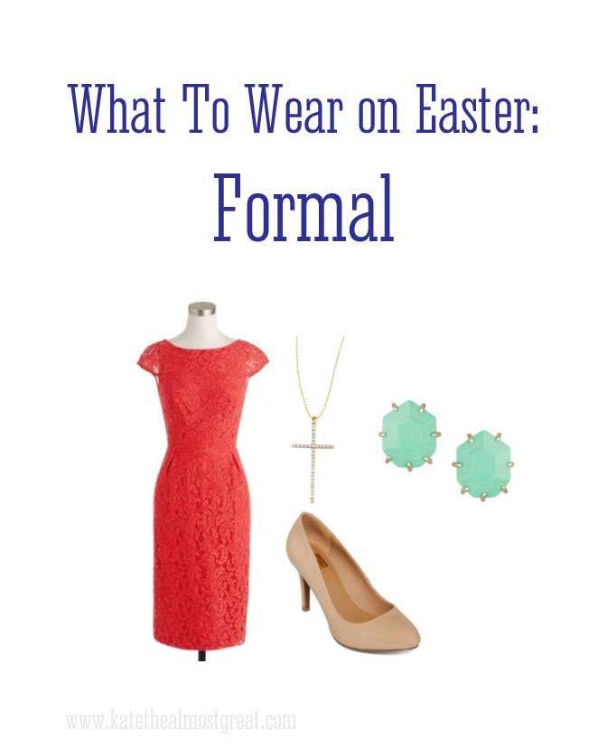 Formal Easter fashion