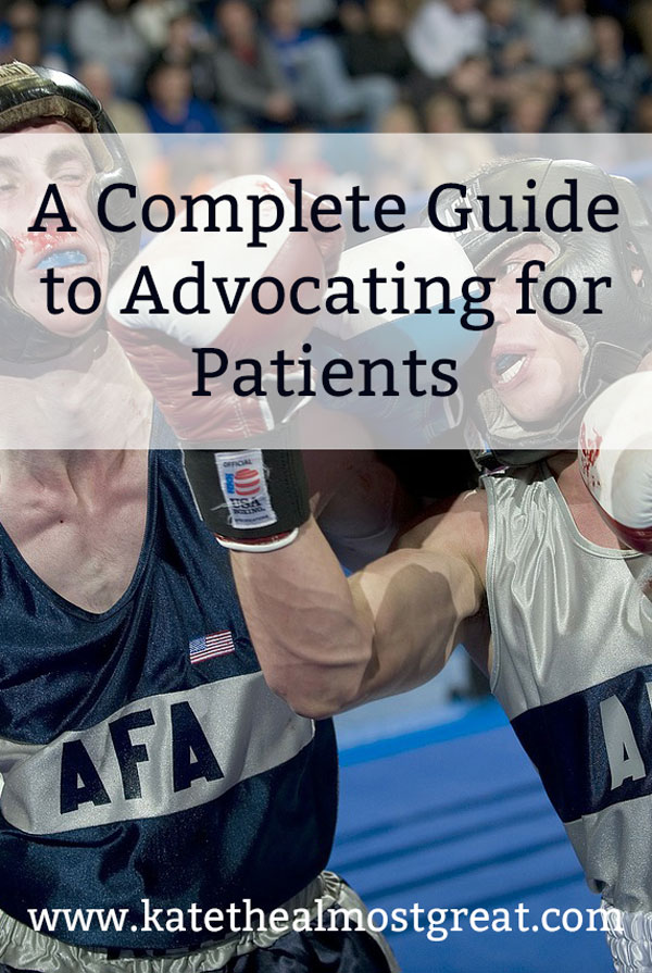 Want to become a patient advocate bot sure where to start? Here is a complete guide to different things that go into advocacy and a place where to start your advocacy journey.