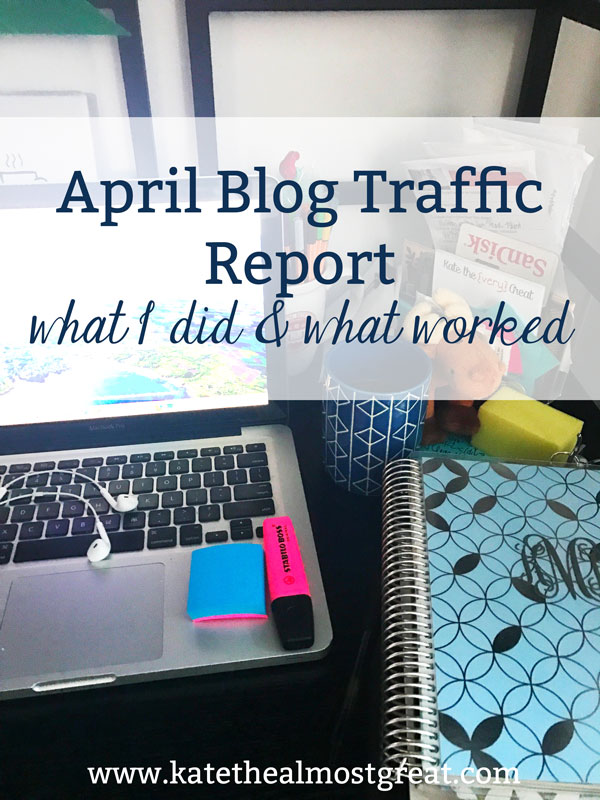 Sharing my website traffic from April, what I did to increase it, what worked, and what didn't. If you're looking to grow your blog traffic, check out my monthly reports for inspiration on different things to try!