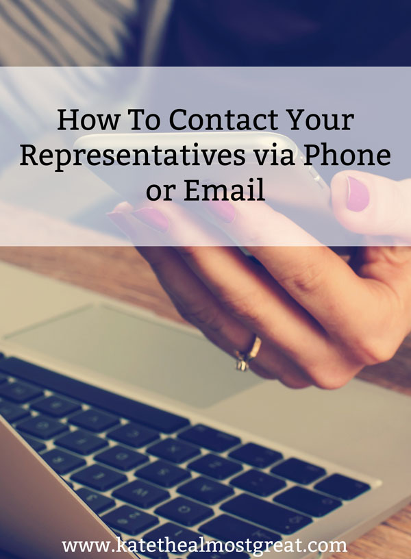 Have you ever contacted your governmental representative to ask them to vote a certain way? You should! Here's why and how to do it.