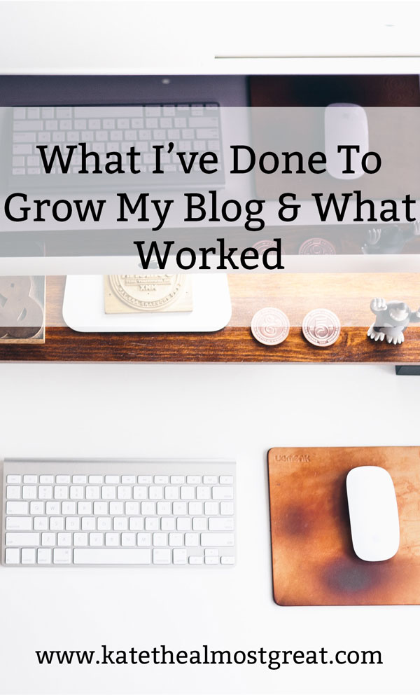 Every month, I try to get more blog traffic. Here's what I did this month, whether or not it worked, and what I can learn from that. Even failure can teach you a lesson or two!