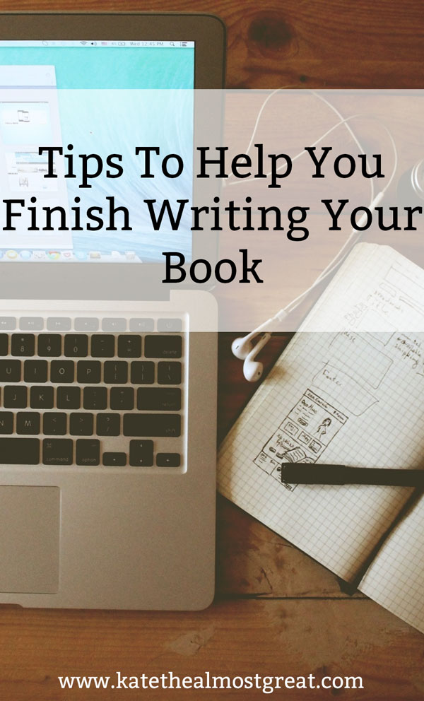 Having trouble staying motivated while you finish writing a book? Here are some tips to help you stay motivated and power through the end.