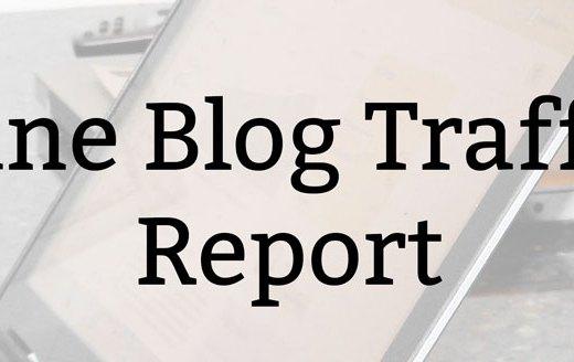 June Blog Traffic Report