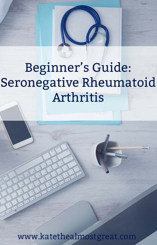 One of the main ways to diagnose rheumatoid arthritis is through a blood test. But did you know that you can test negative and still have it? That's called seronegative, and up to one third of RA patients are seronegative. Here's what you should know about being seronegative and how to deal with it.