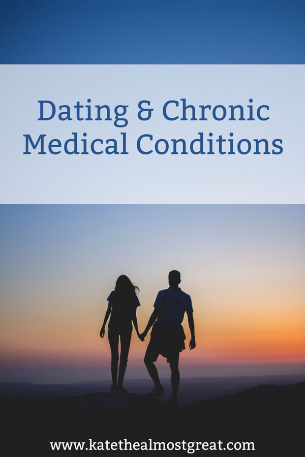 Dating can be difficult for most people, but when you have a chronic condition of some kind - like chronic pain or chronic illness - it can be even harder. There are a lot of things that go into this, such as when you decide to tell someone about your chronic condition or maintaining relationships with someone who isn't used to dating someone with these types of issues. Here I break it down and include resources to help you learn more about certain things, either for you or for your prospective partner.