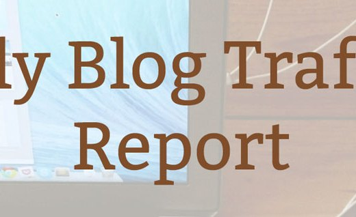 July Blog Traffic Report