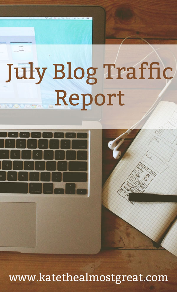 What I did to grow my blog traffic in July, whether or not it worked, and what I learned from this month. If you're interested in growing your blog traffic, you have to check out this series!