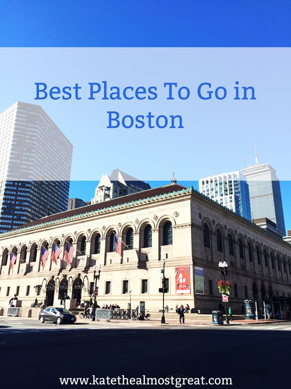 Whether you're planning a trip to Boston USA or just looking for things to do, check out this list of places to go and things to do in Boston. The list includes neighborhoods, museums, things to do, and, of course, where to eat.