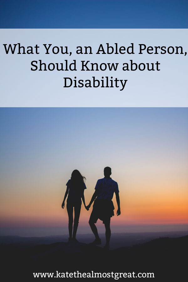 There are a lot of disability facts that you should know in order to understand what living life with a disability is all about. And also what you should know so you don't say anything rude to a disabled person.