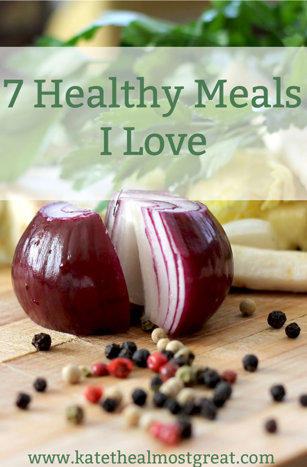 Want to make more healthy meals but aren't sure where to start? Want some new ideas to mix things up? Well this post is here for you! 7 healthy recipes that I've enjoyed (that can also be free of gluten, dairy, corn, soy, and egg, so if you or someone you know has any of these allergies or sensitivities, these will work for them).