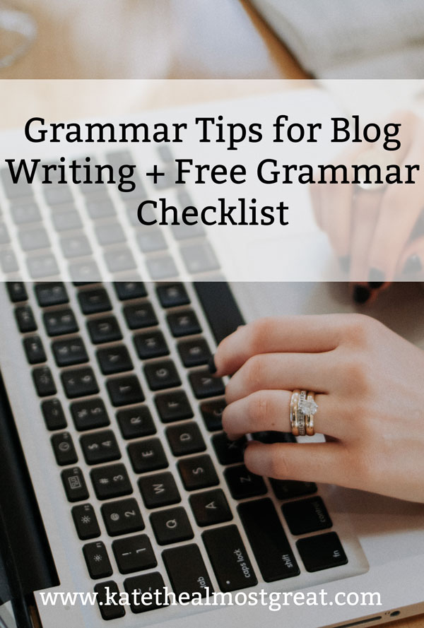 If you're a blogger, you need to know these grammar problems. These are the biggest grammar issues you need to know about and how to fix them.
