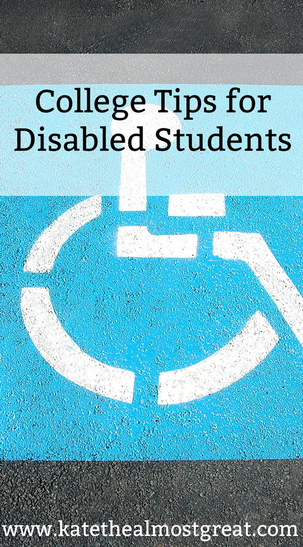 College can be tough enough without living with a disability. As someone who went through college and grad school, I have plenty of college tips to help you have a great college experience with a disability.