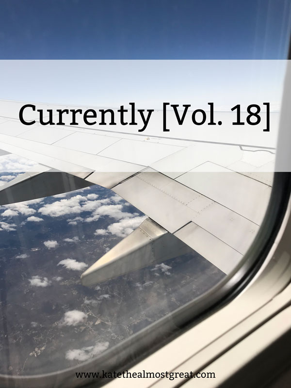 Currently [Vol. 18]