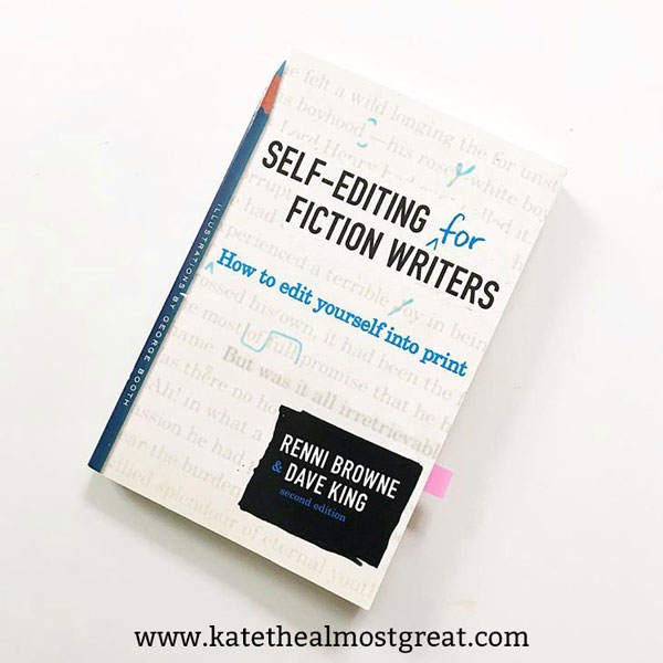 If you write fiction, you need Self-Editing for Fiction Writers! I'm sharing my review of this book, plus all of the other books I've read in the first part of the year.