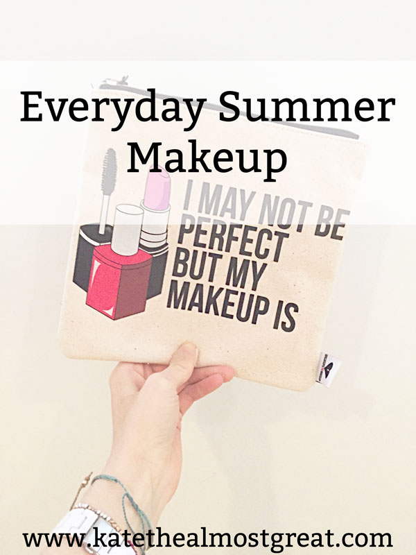 When we enter summer, we tend to want lighter makeup, but we still want some. I'm sharing my everyday summer makeup to help you figure out find awesome products.