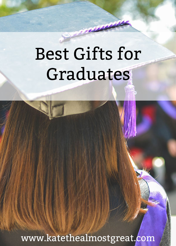 It's that time of year again! College students are graduating and high schoolers are about it. It can be difficult to shop for graduates, so I've pulled together a list of the best ones to make your shopping easier.