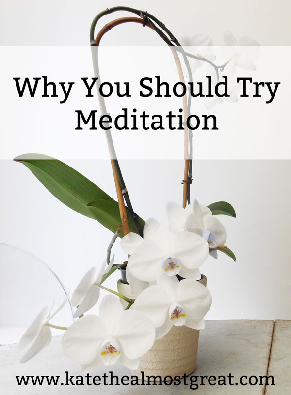 Meditation has so many benefits! In this post, I share what mediation is, the reasons you should try it, and how to do it.