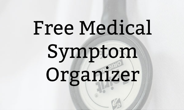 Free Medical Symptom Organizer