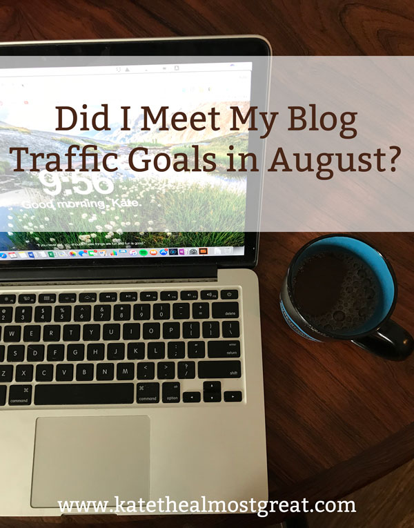 In this blog traffic report, I discuss the keyword trick I tried to help me meet my blog traffic goals and whether or not it worked.