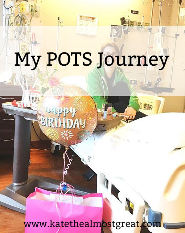Blogger and POTS patient Kate the (Almost) Great addresses her journey with the condition, including how her body reacts to POTS and heat intolerance, and how to deal with it.