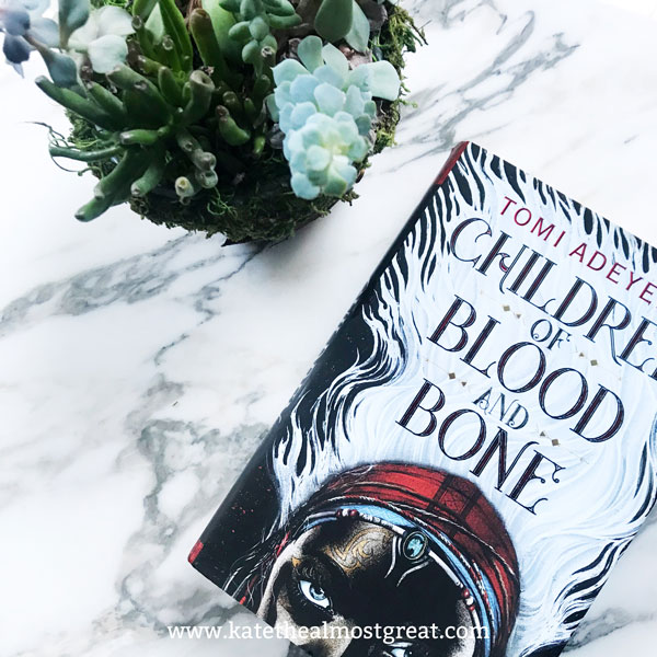 Children of Blood and Bone, Children of Blood and Bone review, review of Children of Blood and Bone, book review, book reviews, books to read, what to read