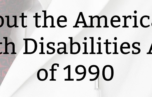About the Americans with Disabilities Act of 1990 | Kate the (Almost) Great