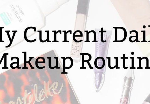 My Current Daily Makeup Routine | Kate the (Almost) Great