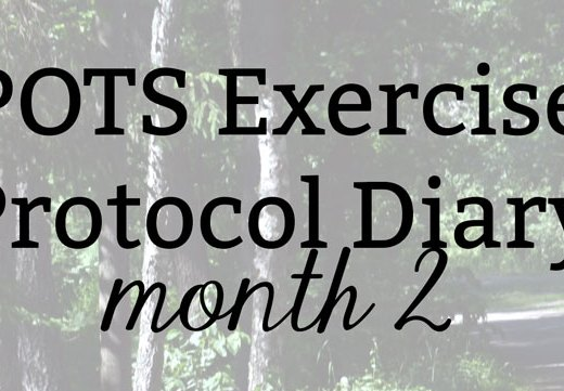 POTS Exercise Protocol Diary: Month 2