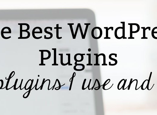 The Best WordPress Plugins: The Plugins I Use and Love