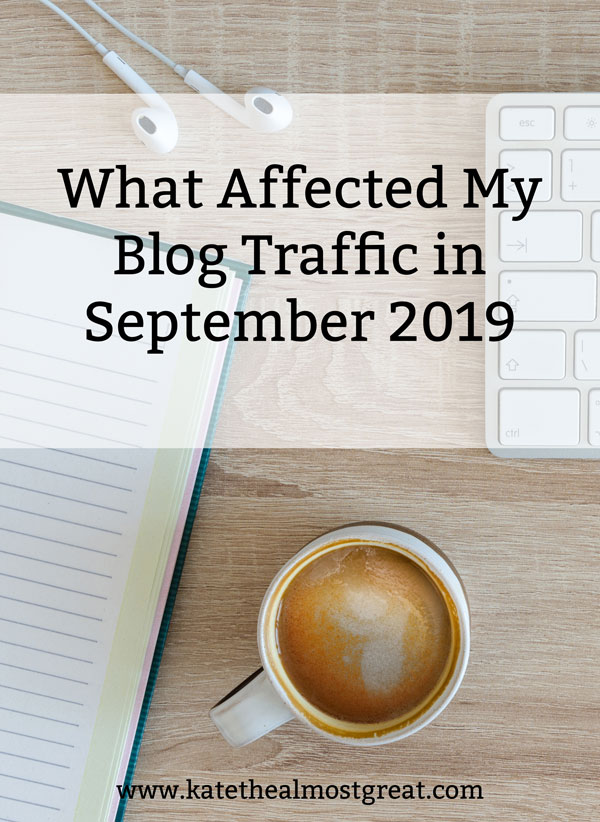 September 2019 blog traffic report, 2019 blog traffic report, blog traffic report, blog traffic, site traffic, site traffic report, website traffic, grow blog traffic, grow site traffic, grow website traffic, increase blog traffic, increase site traffic, increase website traffic, how to grow your blog, how to grow your website, how to grow your site