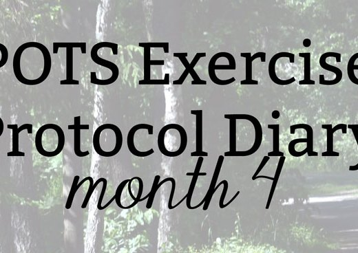 POTS Exercise Protocol Diary: Month 4
