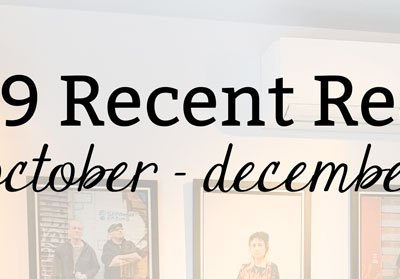 2019 Recent Reads: October-December