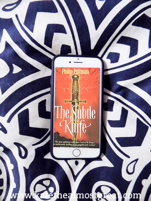 In this post, bookworm lifestyle blogger Kate the (Almost) Great shares what she read in the last few months of 2019. Check out her reviews of The Golden Compass and The Subtle Knife, among others.