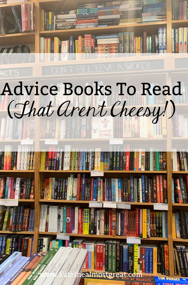 Looking to improve yourself? In this post, I'm sharing a bunch of advice books to read that - most importantly - aren't cheesy.