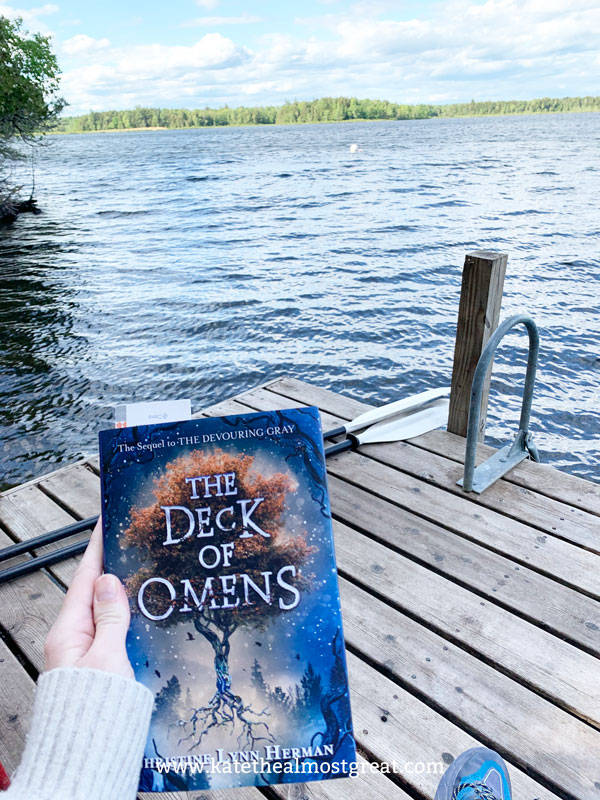The Deck of Omens, The Deck of Omens review, review of The Deck of Omens, Christine Lynn Herman, The Devouring Gray sequel