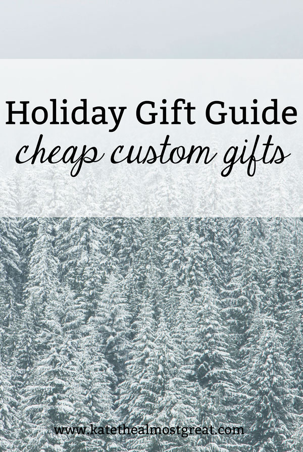 You don't necessarily need to break the bank to get personalized gifts. Check out these cheap custom gifts, all under $50.