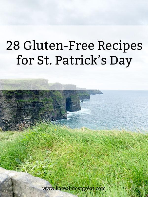 st. patrick's day food, gluten-free st. patrick's day food, gluten-free st. patrick's day drinks, st. patrick's day drinks, st. patty's day food, gluten-free st. patty's day food, st. paddy's day food, gluten-free st. paddy's day food