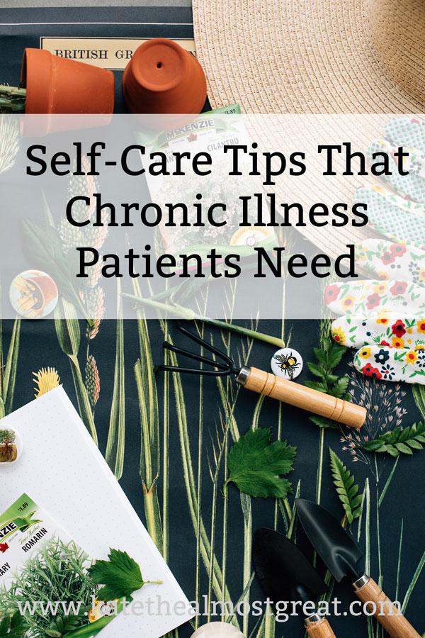 Practicing self-care is incredibly important, but people generally think of it as doing a face mask. In this post, a long-time chronic illness patient shares self-care tips that chronic illness patients specifically need to practice, and why to practice self-care in general.