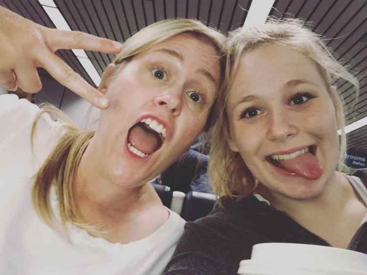 Your 18th birthday mother/daughter trip