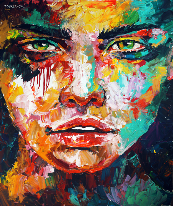 art, artwork, painting, woman portrait, eye, large brush strokes, palette knife, original, oil, realistic, impressionistic, painting for sale, sold, fine art, buy a painting, wall art, gift, christmas, artist, painting art, portrait artist, portrait, contemporary painting, painting gallery, custom art, custom paintings, usa, america, american art, blue, Kate Tova artist, canvas, christmas gift, anniversary, new year, birthday present, unique, exclusive, expensive, luxurious, living room, guestroom, Kate Tova, wedding gift, Valentines day gift, hand painted, art for dining room, guest room, living room, bedroom, canvas print, print, painting on canvas, art for sale
