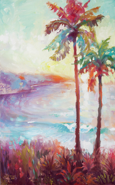 Art, Artwork , Sunset, Sunrise, Palm Trees, Hawaii, Impressionistic, Ocean, Waves, Sun, Art, Artwork, Painting, Original, Oil, Realistic, Painting For Sale, Sold, Fine Art, Buy A Painting, Wall Art, Gift, Christmas, Artist, Painting Art, Portrait Artist, Portrait, Contemporary Painting, Painting Gallery, Custom Art, Custom Paintings, Nature, Water, Usa, America, American Art, Animals, Animal, Blue, Kate Tova Artist, Canvas, Christmas, Gift, Anniversary, New Year, Birthday Present, Unique, Exclusive, Expensive, Luxurious, Living Room, Guestroom, Kate Tova, Wedding Gift, Valentines Day Gift, Hand Painted, Art For Dining Room, Guest Room, Living Room, Bedroom, Canvas Print, Print, Painting On Canvas