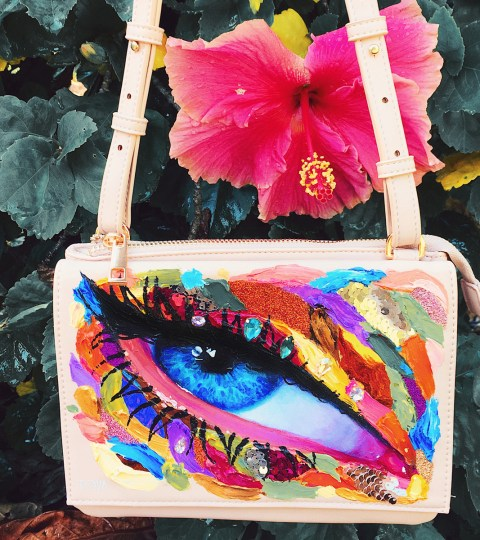 JEN. Painted Crossbody Bag