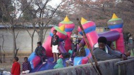 The jumping castle I was not allowed on...