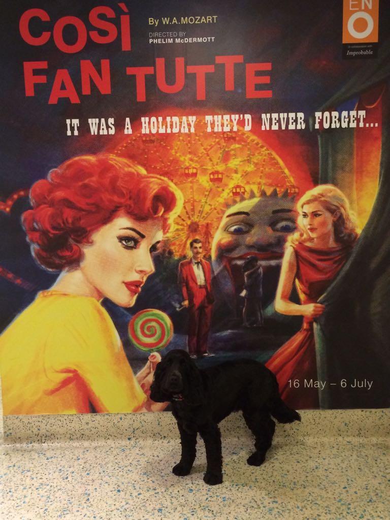 Dexter visits the Opera - Cosi Fan Tutte, English National Opera 2014