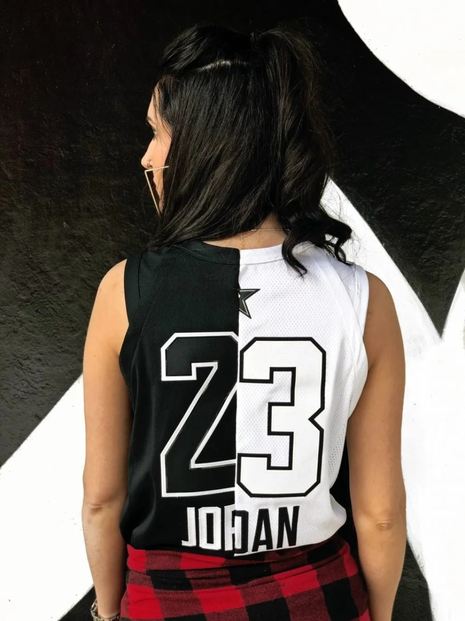 Women's two-toned authentic MJ jersey - www.kateyblaire.com