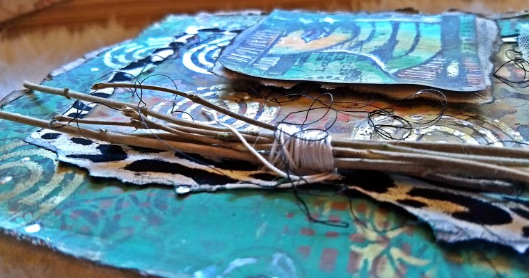 Guest Post for PaperArsty: Mixed Media Art Journal