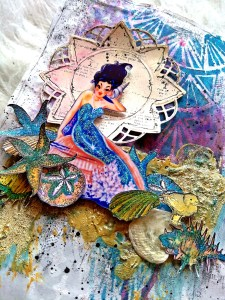 Spell Of The Sea Mixed Media Art Journal Kate Yetter