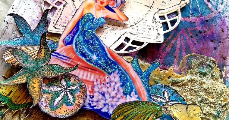 Spell Of the Sea: Mixed Media Art Journal