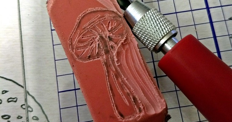 Making An Impression: Stamp Carving 101